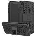 iPhone XR Anti-Slip Hybrid Case with Kickstand - Black