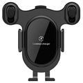 Bluetooth Car Holder / Wireless Car Charger K1 - Black