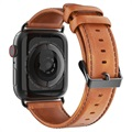 Dux Ducis Apple Watch Series SE/6/5/4/3/2/1 Kožni Kaiš - 42mm, 44mm - Braon