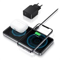 ESR HaloLock 2-in-1 Magnetic Wireless Charger for iPhone 12, AirPods