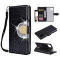 iPhone XI Glitter Wallet Case with Mirror