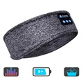 Multifunctional Bluetooth 5.0 Headband with Microphone - Grey