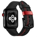 Apple Watch Series SE/6/5/4/3/2/1 Prošiveni Kožni Kaiš - 42mm, 44mm