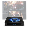 X96Q Max Smart Android 10 TV Box with Clock - 4GB RAM, 64GB ROM