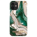 iDeal of Sweden Fashion iPhone 12 Mini Maska - Golden Jade Marble
