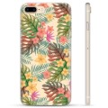 iPhone 7 Plus / iPhone 8 Plus TPU Maska - Pink Flowers